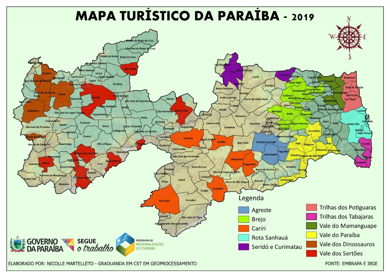 Araruna renova permanência no Novo Mapa Turístico da Paraíba ...