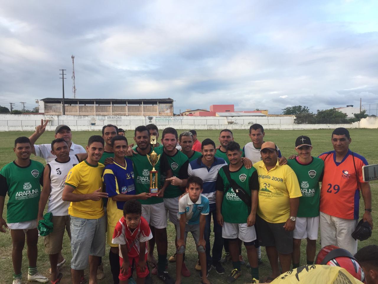 Atlético Real vence 'Torneio Início do Campeonato Municipal de Futebol' em Araruna