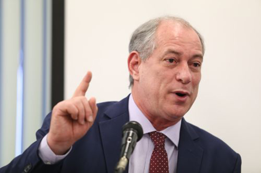 PDT oficializa candidatura de Ciro Gomes à Presidência da República