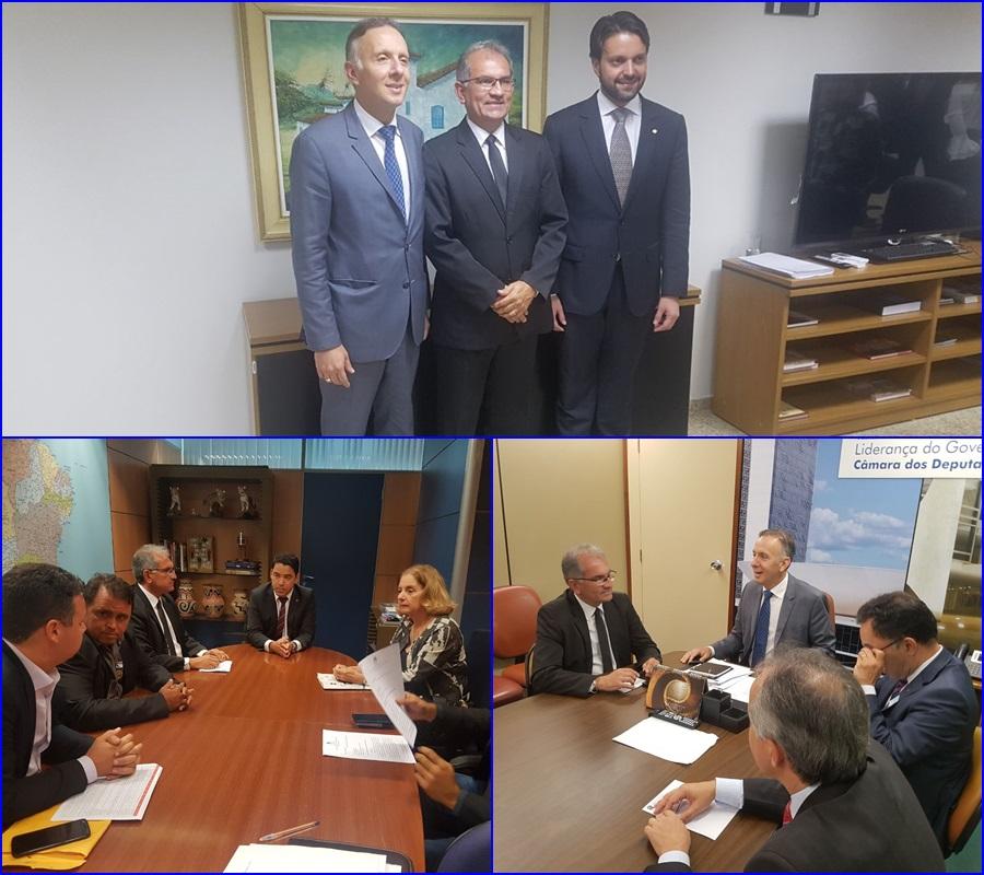 Prefeito Vital Costa segue cumprindo agenda em Brasília em busca de melhorias para Araruna