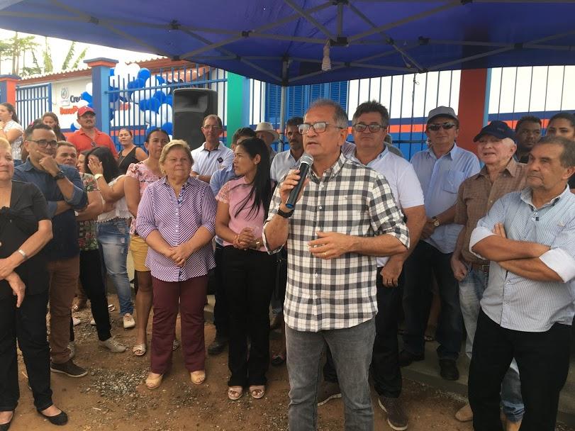Prefeitura de Araruna entrega reforma de creche na comunidade de Carnaúba em novo padrão