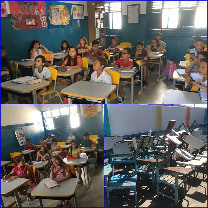 Prefeitura de Araruna equipa escolas com novas carteiras escolares