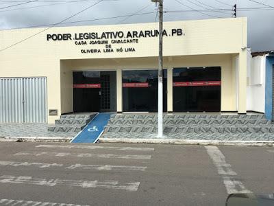 Presidente da Câmara de Araruna exonera assessores de vereadores