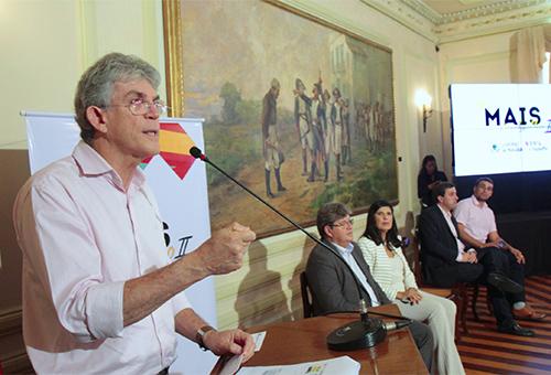 Ricardo lança Programa Mais Trabalho 2 e obras representam investimentos de R$ 200 milhões